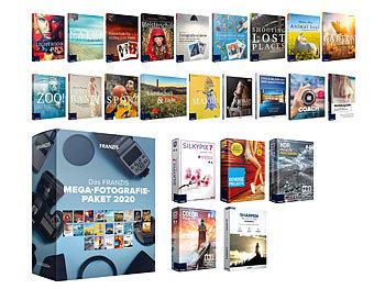 Das FRANZIS Mega-Fotografie-Paket 2020 / Software