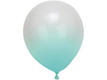 infactory Ballonlichter: Bunte LED Ballon Blinker im 20er