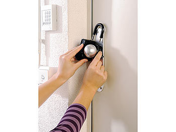 infactory b gel schl ssel safe f r die t rklinke mit 4. Black Bedroom Furniture Sets. Home Design Ideas