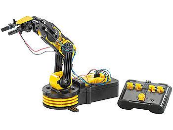 playtastic baukasten roboter arm inkl usb schnittstelle. Black Bedroom Furniture Sets. Home Design Ideas