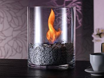 Carlo milano bio ethanol tischkamine glas dekofeuer - Feuerschalen ethanol garten ...
