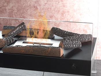 carlo milano feuerdekoration keramik dekoration f r bio ethanol fen komplettset feuer deko. Black Bedroom Furniture Sets. Home Design Ideas