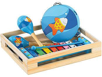 Fröhliches Instrumente-Set für kleine Musikanten / Spielzeug
