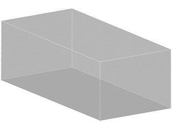 infactory m ckennetz xxl moskitonetz f r innen au en 300 x 500 x 250 cm 220 mesh wei. Black Bedroom Furniture Sets. Home Design Ideas