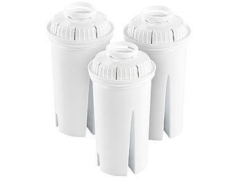 Filterkartuschen rund, 3er Pack, passend für Brita Classic / Wasserfilter