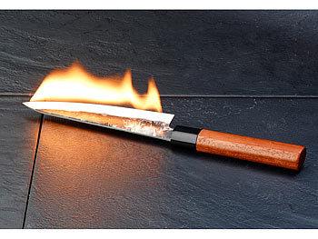 TokioKitchenWare Santoku Allzweck-Küchenmesser, handgeschmiedet ... | {Küchenmesser 99}