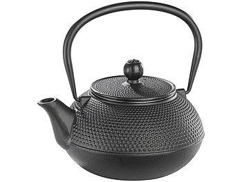 rosenstein s hne gusseiserne teekanne asiatische teekanne mit st vchen aus gusseisen. Black Bedroom Furniture Sets. Home Design Ideas
