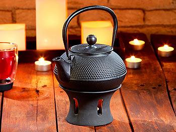 rosenstein s hne asiatische teekanne mit st vchen aus gusseisen. Black Bedroom Furniture Sets. Home Design Ideas