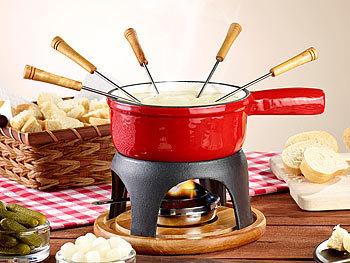 rosenstein s hne k se fondue t pfe k sefondue topf aus gusseisen 16 cm. Black Bedroom Furniture Sets. Home Design Ideas