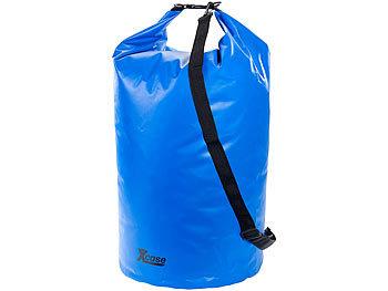 Wasserdichter Packsack 70 Liter, blau / Packsack