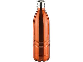 Doppelwandige Vakuum-Isolierflasche aus Edelstahl, 1,0 Liter / Trinkflasche