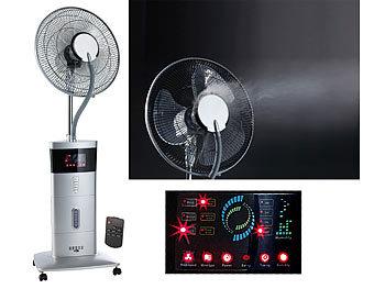 Stand-Ventilator VT-441.S, mit Ultraschall-Sprühnebel & Fernbedienung / Ventilator