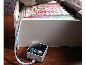 k hldecke bett klimaanlage und heizung. Black Bedroom Furniture Sets. Home Design Ideas