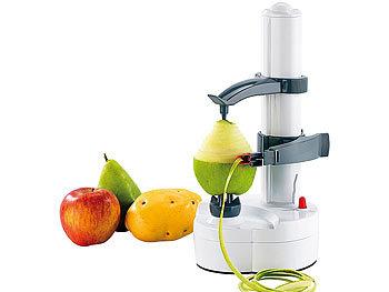 Rosenstein Söhne Kartoffelschäler Elektrischer Obst Und Gemüseschäler Edelstahl Klinge Elektrischer Schäler