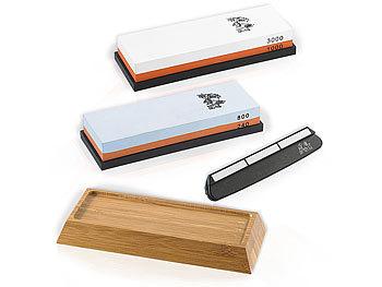 tokiokitchenware messerschleifset wasser schleifstein set 2 doppel wassersteine winkelhilfe. Black Bedroom Furniture Sets. Home Design Ideas