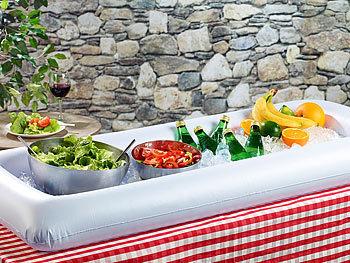 rosenstein s hne aufblasbares buffet f r salate desserts getr nke. Black Bedroom Furniture Sets. Home Design Ideas