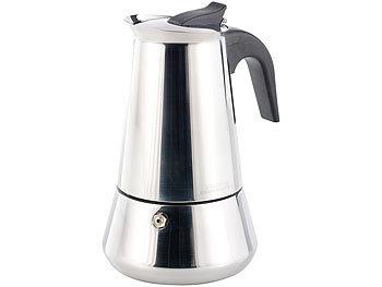 cucina di modena espressokocher f r 6 tassen f r induktion gas und ceran feld. Black Bedroom Furniture Sets. Home Design Ideas