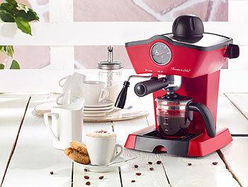 rosenstein s hne espressomaschine retro dampfdruck siebtr ger espressomaschine mit. Black Bedroom Furniture Sets. Home Design Ideas