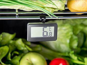 Kühlschrank Thermometer Funk : Rosenstein söhne kfz thermometer digitales gefrier