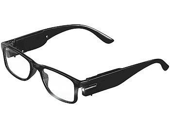 Pearl Brille Ohne Starke Modische Brille Mit Integriertem Led Leselicht Ohne Sehstarke Brille Mit Lampe