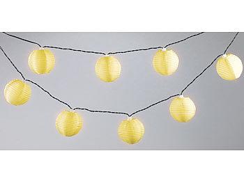lunartec solar lampion wetterfest solar led lichterkette mit 10 mini lampions 1 8 m ip44. Black Bedroom Furniture Sets. Home Design Ideas