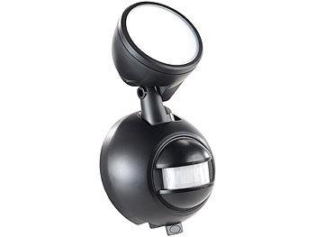 wandlampe kabellose led au enleuchte mit pir bewegungsmelder 1 w 80 lm ip44 bewegungsmelder. Black Bedroom Furniture Sets. Home Design Ideas