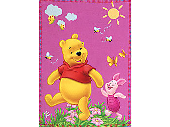 Fleece-Decke Winnie Pooh & Freunde 120x150 cm