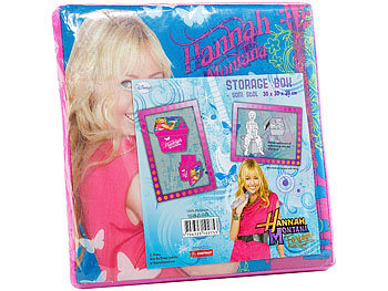 Hannah Montana 2in1 Faltbox und Hocker