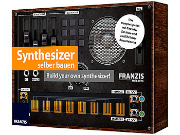 franzis synthesizer selber bauen build your own synthesizer. Black Bedroom Furniture Sets. Home Design Ideas