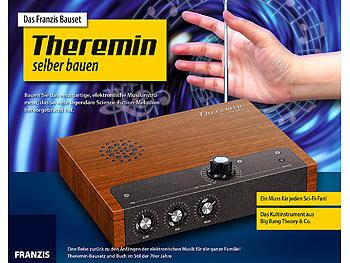 Franzis elektrotechnik baukasten bauset theremin selber for Nc elektrotechnik