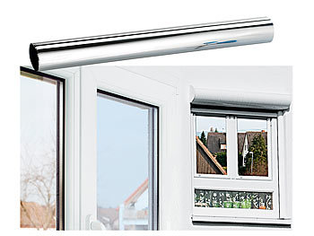 infactory isolier spiegelfolie sicht uv schutz 99. Black Bedroom Furniture Sets. Home Design Ideas