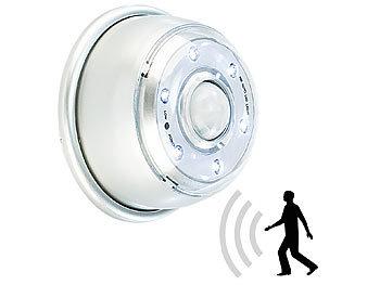 lunartec licht bewegungsmelder led innen au enlicht mit pir sensor magnethalterung ip44. Black Bedroom Furniture Sets. Home Design Ideas