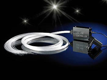 lunartec led glasfaser sternenhimmel wei mit glitzer effekten refurbished. Black Bedroom Furniture Sets. Home Design Ideas