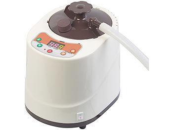 newgen medicals Portables Heim Dampfbad Sauna mit 850 Watt