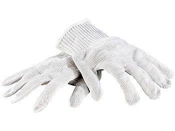 AGT schnittfeste Handschuhe: 1 Paar Nylon-Stahl-Handschuhe ...