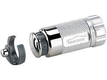 lescars kfz mini taschenlampe mit 0 5w led akku 12v. Black Bedroom Furniture Sets. Home Design Ideas