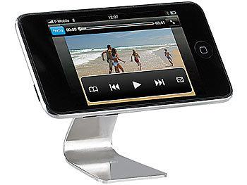 pearl magischer universal edelstahl halter f r handy ipod iphone u v m. Black Bedroom Furniture Sets. Home Design Ideas