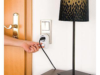 revolt tischlampen dimmer dimmer steckdose f r dimmbare tisch und stehlampen 230 volt. Black Bedroom Furniture Sets. Home Design Ideas