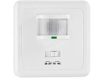 revolt automatischer lichtschalter mit bewegungsmelder sound sensor. Black Bedroom Furniture Sets. Home Design Ideas