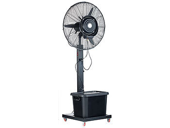 sichler haushaltsger te ventilator mit wasser professioneller standventilator vt 761 s mit. Black Bedroom Furniture Sets. Home Design Ideas
