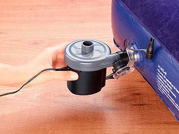 infactory 12 volt luftpumpe elektrische luftpumpe mit. Black Bedroom Furniture Sets. Home Design Ideas