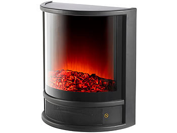 Eleganter Elektro-Kamin Thar mit 1.700 Watt, 2 Heizstufen, Thermostat / Elektrokamin