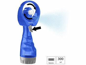 pearl hand ventilator mit wasserspr her 300 ml wassertank. Black Bedroom Furniture Sets. Home Design Ideas