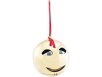 Singende & sprechende Weihnachtsbaumkugel / Weihnachtskugel