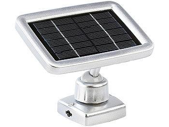 lunartec led lampe mit solarpanel 3 led strahler mit solar panel pir bewegungsmelder led. Black Bedroom Furniture Sets. Home Design Ideas