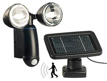 lunartec duo solar strahler m 1 watt leds pir bewegungsmelder refurbished. Black Bedroom Furniture Sets. Home Design Ideas