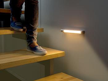 Kann man Treppenbeleuchtung auch ohne Strom einbauen