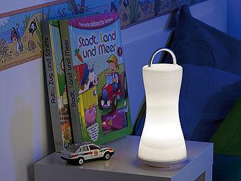 lunartec tischleuchte 2in1 led laterne tischlampe. Black Bedroom Furniture Sets. Home Design Ideas