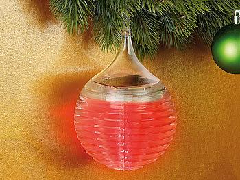 lunartec christbaum kugel wetterfeste solar baumkugel mit led farbwechsler f r drau en. Black Bedroom Furniture Sets. Home Design Ideas