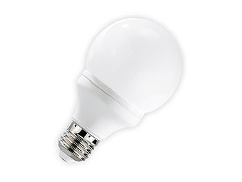 Luminea SMD-LED-Lampe Classic, 48 LEDs, warmweiß, E27, 190 lm, 4er-Set Luminea LED Leuchtmittel E27 (warmweiß)